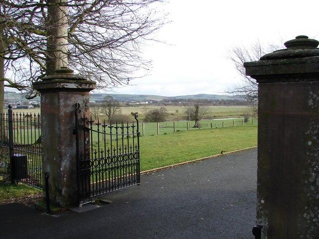 Broomrig House Gates