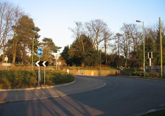 Chapel Hill roundabout