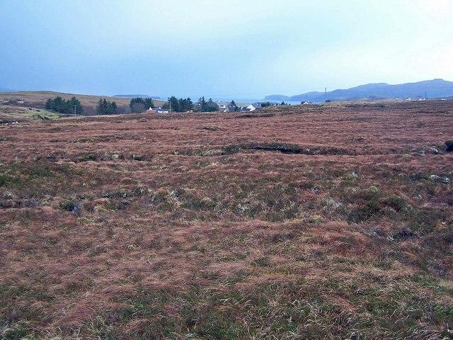 Moorland towards Roskhill