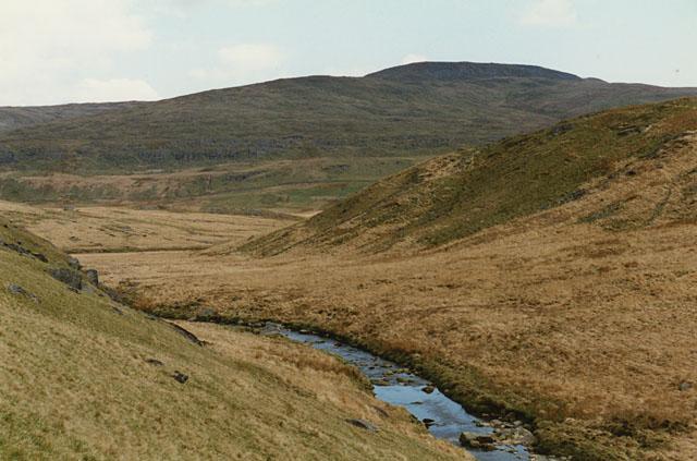 Path east from Llechwedd-mawr