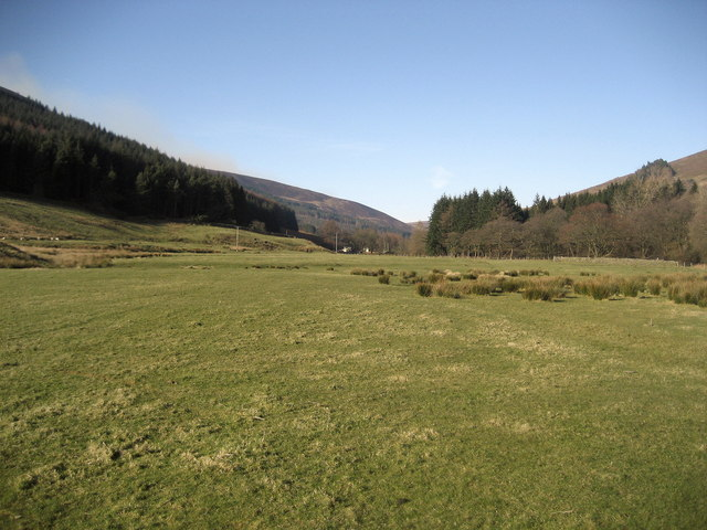 Dunsop Valley from the Footbridge