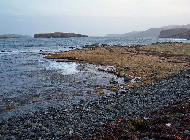 Beach at Ardroag