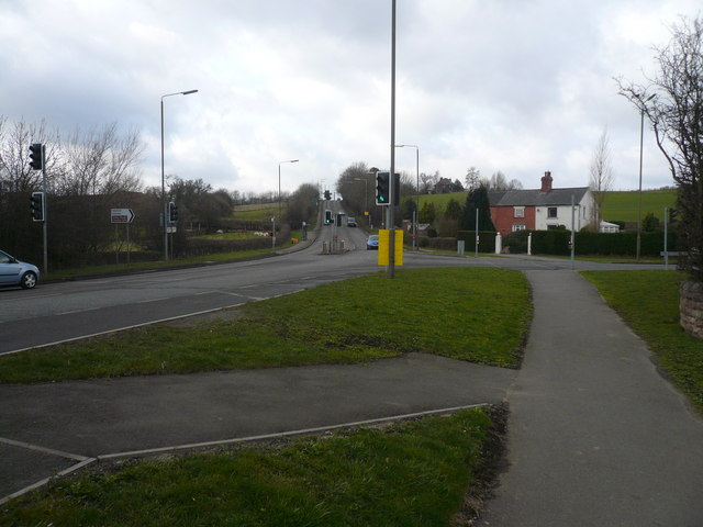 Staveley Road Junction with Chesterfield Road (A632)
