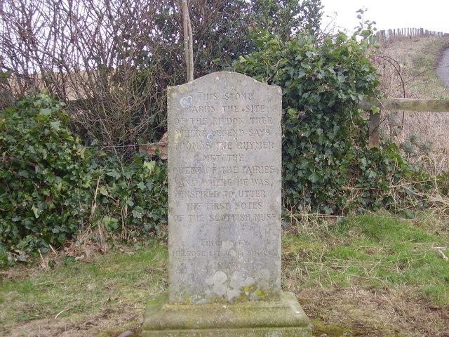 The Rhymer's Stone near Melrose