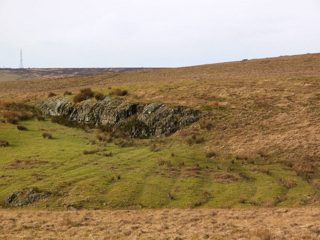 Cultivation ridges near Craigbower