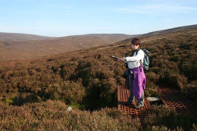 Hazelhurst Fell, finding a route