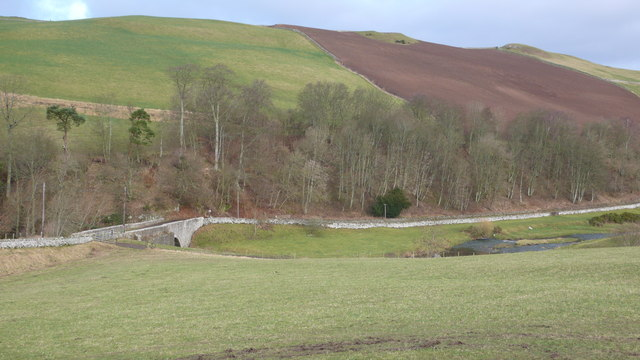 Heavyside Bridge and the Kale Water