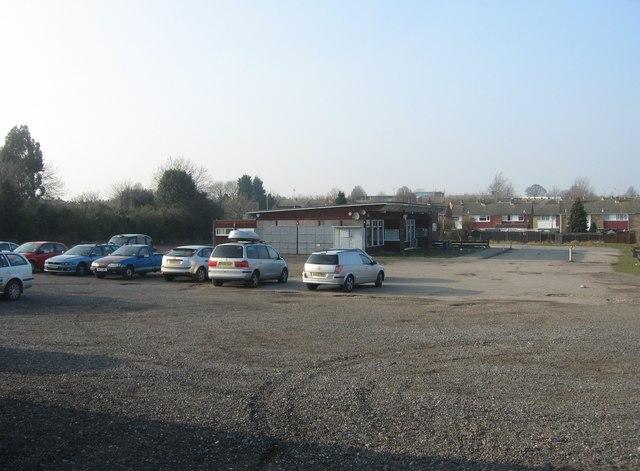Camrose car park