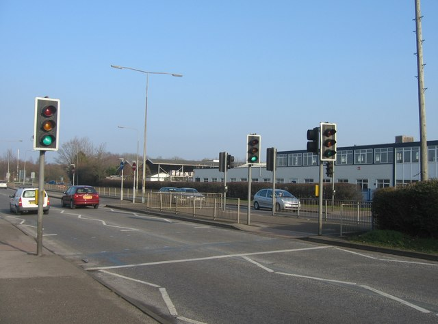Pedestrian crossing - Winchester Road