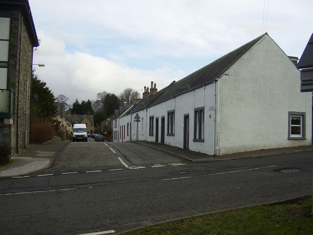 Tea Street, Galashiels, Scottish Borders.