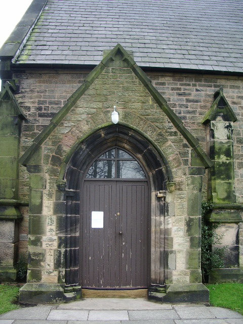 Christ Church, Newburgh, Porch