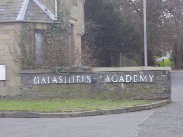 Galashiels Academy, the entrance