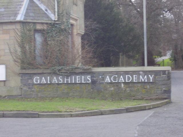 Galashiels Academy, the entrance