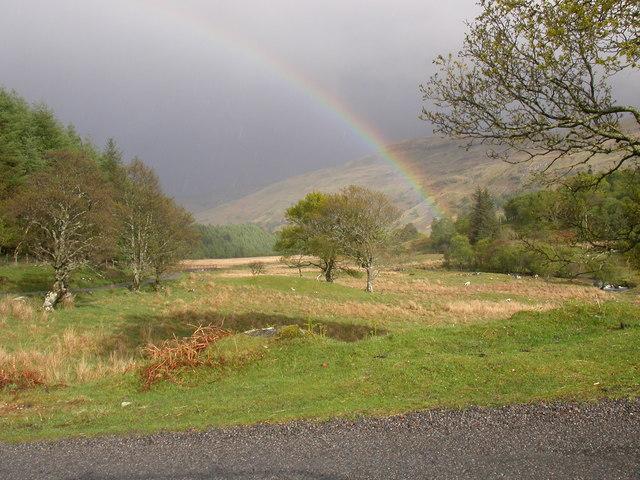 Glen Lonan after rain