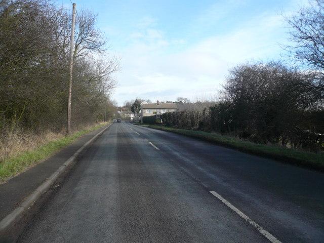 Clowne - Approaching Low Road Nursery