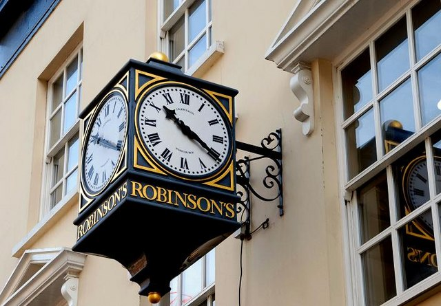 Robinson's clock, Belfast