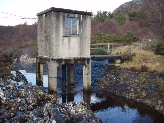 Hydro building on Kerry River