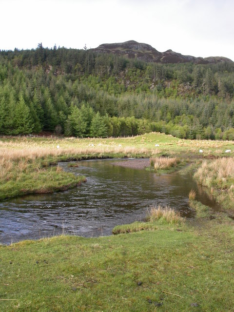 River Lonan,looking towards Deadh Choimhead