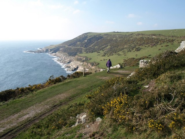 Coast path on Stoke Down