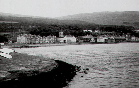 Fairlie from the old pier, 1967