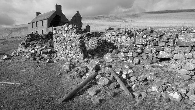 Ruinous South Cote Farmhouse