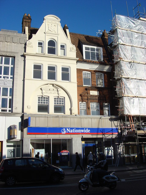 Nationwide Building Society. Kilburn High Rd