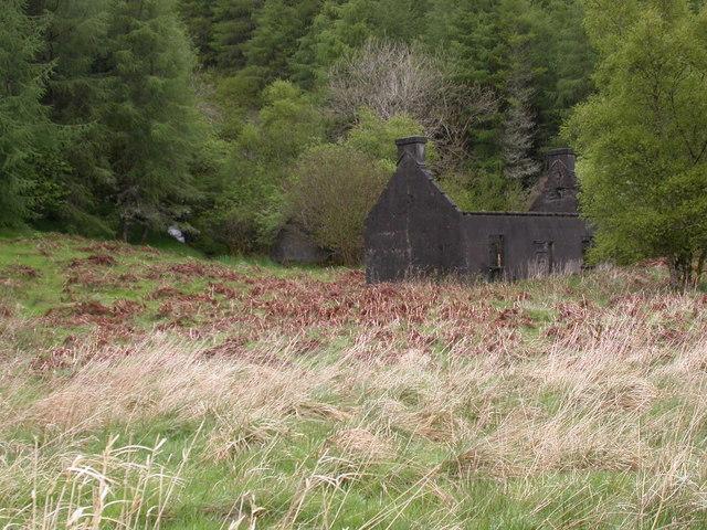Ruin near Loch Avich