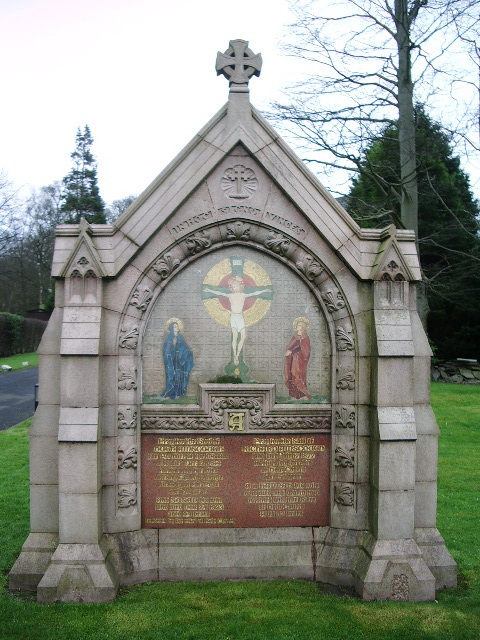 Our Lady and All Saints RC Church, Parbold, Gravestone