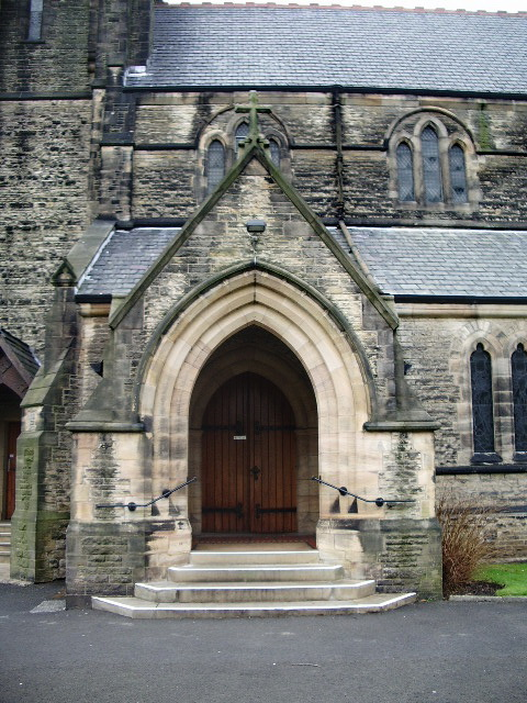 Our Lady and All Saints RC Church, Parbold, Porch