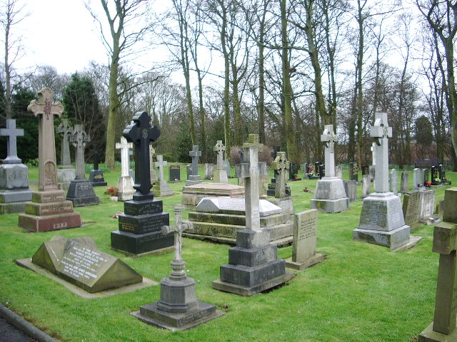 Our Lady and All Saints RC Church, Parbold, Graveyard