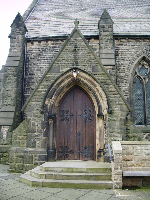 Christ Church, Douglas-in-Parbold, Porch