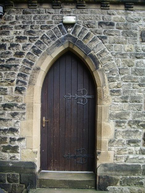 Christ Church, Douglas-in-Parbold, Doorway