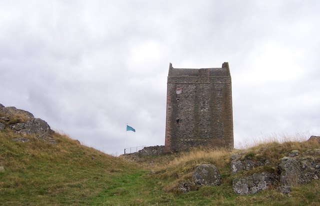 Smailholm Tower-near Kelso