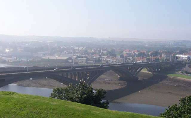 Road bridge - Berwick on Tweed