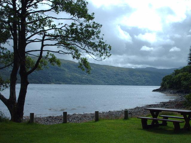 Loch Sunart  from Torr Molach