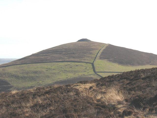 Mynydd Carnguwch from round the back