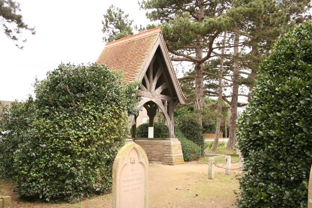Cemetery lych gate