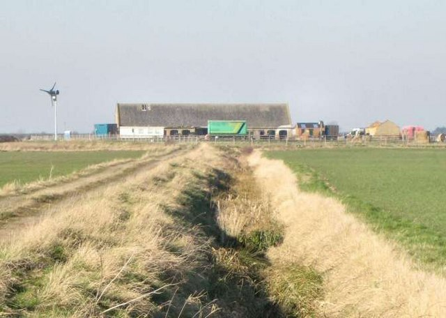 Farm on Ewerby Fen
