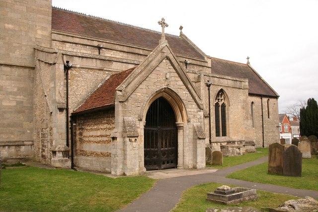 All Saints' church porch