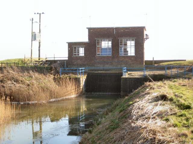 Pumping station on Car Dyke