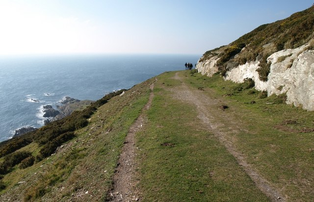South West Coast Path on Snellings Down