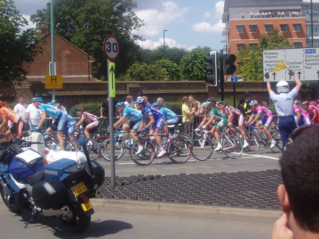 The Tour de France goes through Gillingham