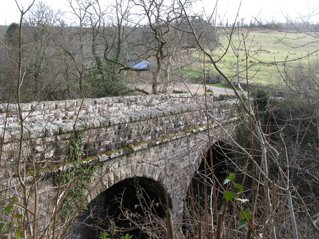 Bridge over the River East Allen at Oakpool