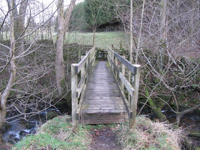 Maggie's Bridge over Burntongues Burn