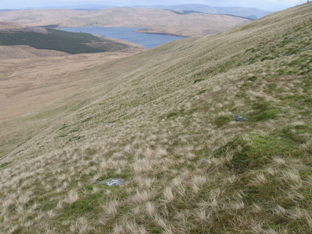 Towards Daer Reservoir from Watchman's Brae