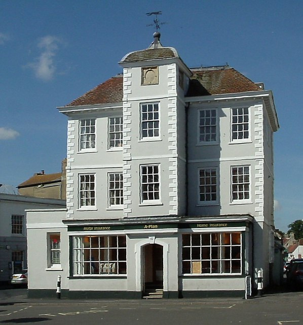 Building dated 1698  Market Square Bicester