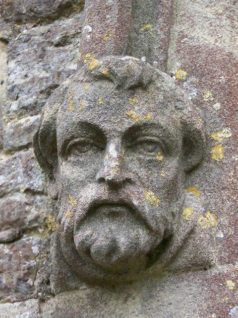 Label stop, St Nicholas Church, Henstridge