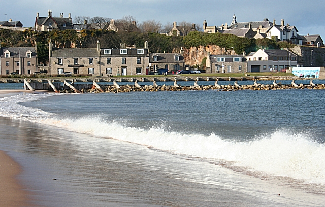 Lossiemouth from the East Beach