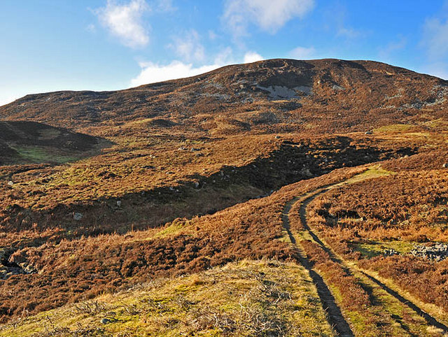 The water board track and eastern side of Carn Luig Bainneiche