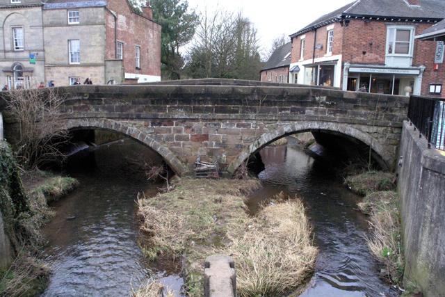 Bridge on Compton Street Ashbourne